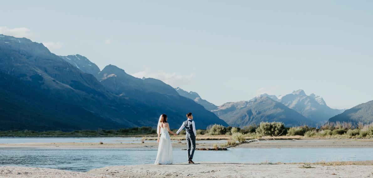 新西兰婚纱照,新西兰婚纱旅拍,新西蘭婚紗照